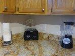 Toaster and blender