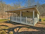 Up to 3 travelers will enjoy this property's 400 acres and views of the Blue Ridge Mountains.