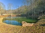 Stroll along the river when you visit French Broad River Park near downtown Asheville.