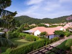 Villa Vista is located in a small valley