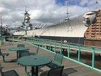 Wisconsin Battle Ship-Downtown Norfolk