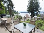Deluxe Suite: expansive deck with oceanview