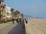 San Diego beach life