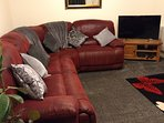 Lounge, large freeview t.v and dvd player..