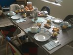 Salle des petits - déjeuners