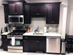 Modern Kitchen with all the amenities including dishwasher and disposal
