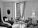the biggest room in black&white