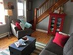 Cozy living room area.