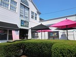 Sip a freshly blended juice on the patio of J-Bar for that afternoon boost in Harwich Port - Harwich Port Cape Cod New...