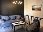L villa living room