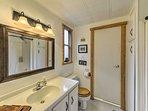 The first bedroom has an en-suite bathroom.