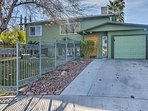 This home places you minutes from the Vegas Strip, hiking trails, and more Vegas attractions!