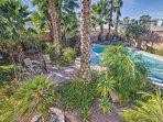 Backyard / Pool Area