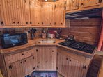 Prepare tasty meals in the well-equipped kitchenette.