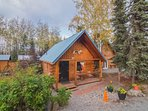 Experience the best of Alaska's wilderness at this 1-bedroom + loft, 1-bath vacation rental cabin in Sterling!