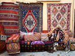 You can buy a Kilim in Kalkan and  have it posted home for you