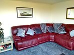 Lounge reclining sofas.. All freshly decorated and new carpet and curtains.for 2018.