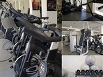 A very complete gym and many sports activities  such yoga, spinning, abs, you can join daily.