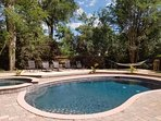 Welcome to the Island! Private Backyard, deck, pool.