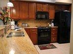 Various Kitchen Amenities