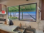 View of Ocean from Kitchen