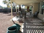 large covered patio