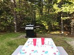 Picnic Table and BBQ grill