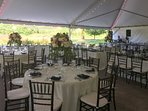 Ample outdoor space and beautiful scenery make events something to remember!