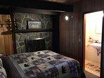 1st bedroom, Master bedroom, Queen bed