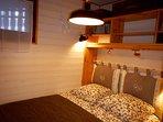 Détail chambre 2 personnes (Linge de lit non fourni)