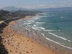 Plage des Basques, Marbella et Milady en enfilade