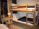 Second bedroom bunk beds.
