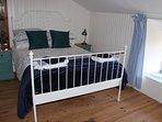 Mezzanine area double bed