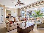 Open the retractable doors for a refreshing indoor/outdoor living experience