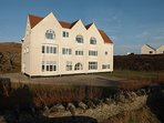Gwynfa is a beautiful property, and we offer this apartment on the whole of the ground floor