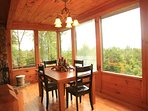 Sunset Ledge_Dining Area_Enchanted Mountain Retreats