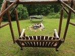 Sunset Ledge_Sleeps 6_Hot Tub_Pet Friendly_Fence In