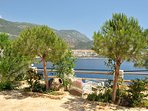 Enjoy a coastal walk around Kalkan Bay - stop a while and admire the view
