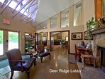 Visit the Lobby Lounge for a Sandwich, Beer, Glass of Wine