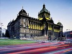 LOCATION! National Museum on the top of Wenceslas Square 5 min walk (100 meters) from our Apartment.