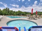 You'll have access to the Honey Suckle Meadows RV Park pool and facilities!