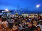 Gran Alacant commercial centre bar/restaurant area