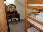 Room 5 - triple bunk bed.  Adjoins Room 4