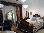 Dream lodging with original 19th Century polished wood pillars