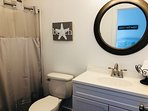 Clean, fresh and new!  Private bath with tub and shower.