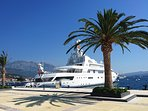 Porto Montenegro super yacht marina in Tivat.