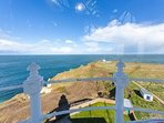 View from the top of the lighthouse. Photo credit Rod Newton
