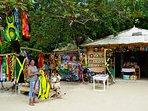 Gift shop at beach