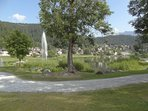 Laaxer-See/Lake at the Laax village: 1.6km/1 mile from Laax-Rancho hotel; 23 min. walking distance.