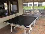 Challenge your friends and family to a fun game of table tennis.